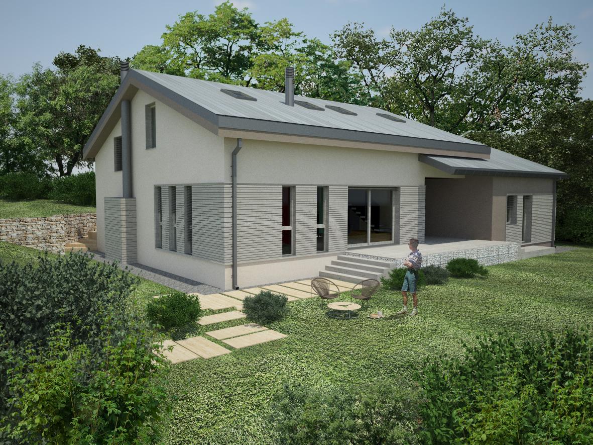 Progetto di Riuso da Scuola a Abitazione Ecosostenibile | Ramiseto (RE)