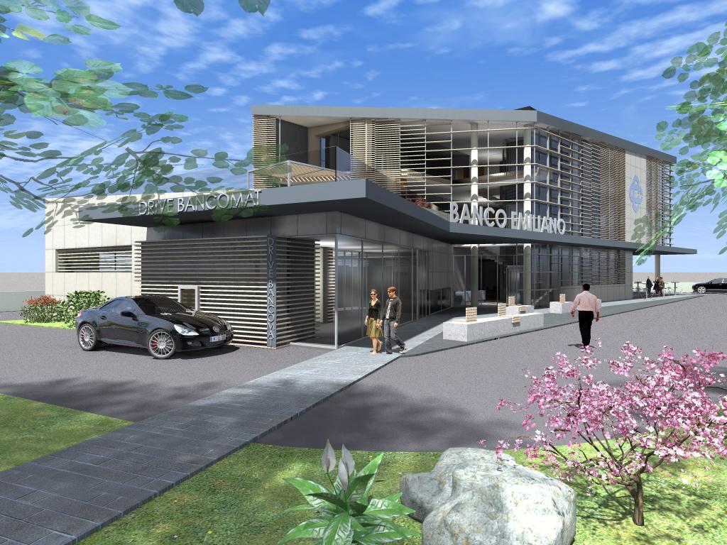 Progetto nuova sede direzionale istituto di credito | Reggio Emilia