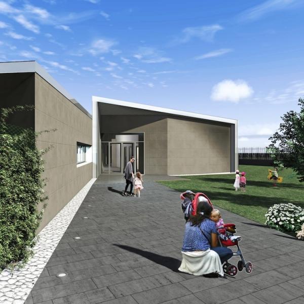Asilo nido per 60 bambini e attrezzatura a parco pubblico e gioco bambini  | Roma