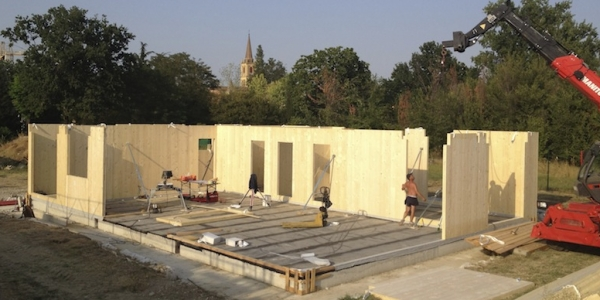 Edificio residenziale in Legno (Xlam) | Formigine (MO)