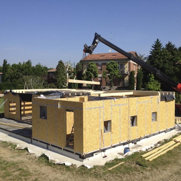 Edificio residenziale in Legno (Telaio) | Formigine (MO)